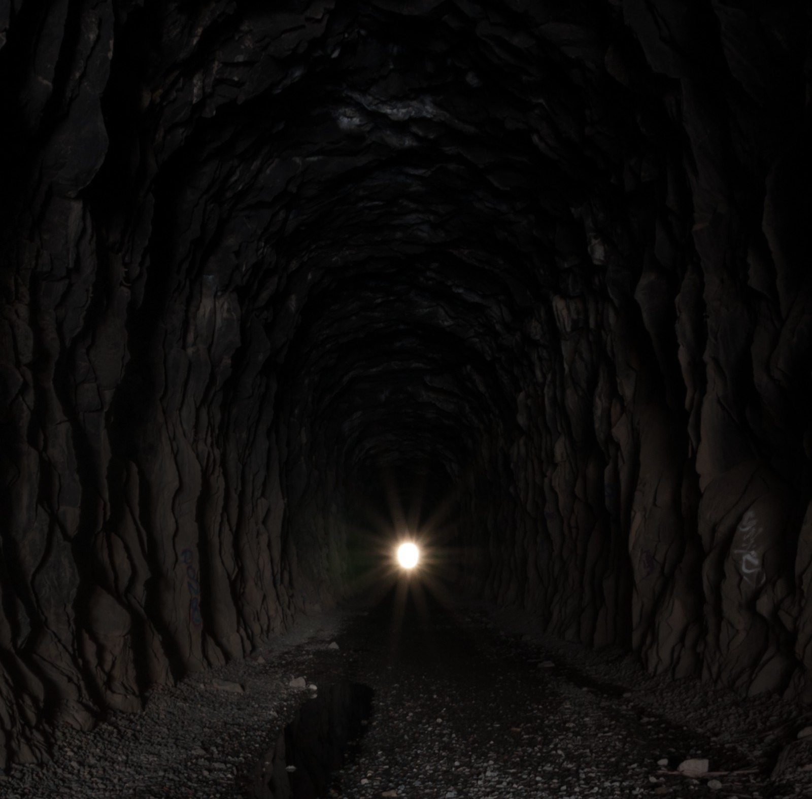 Light at the end of the tunnel of darkness